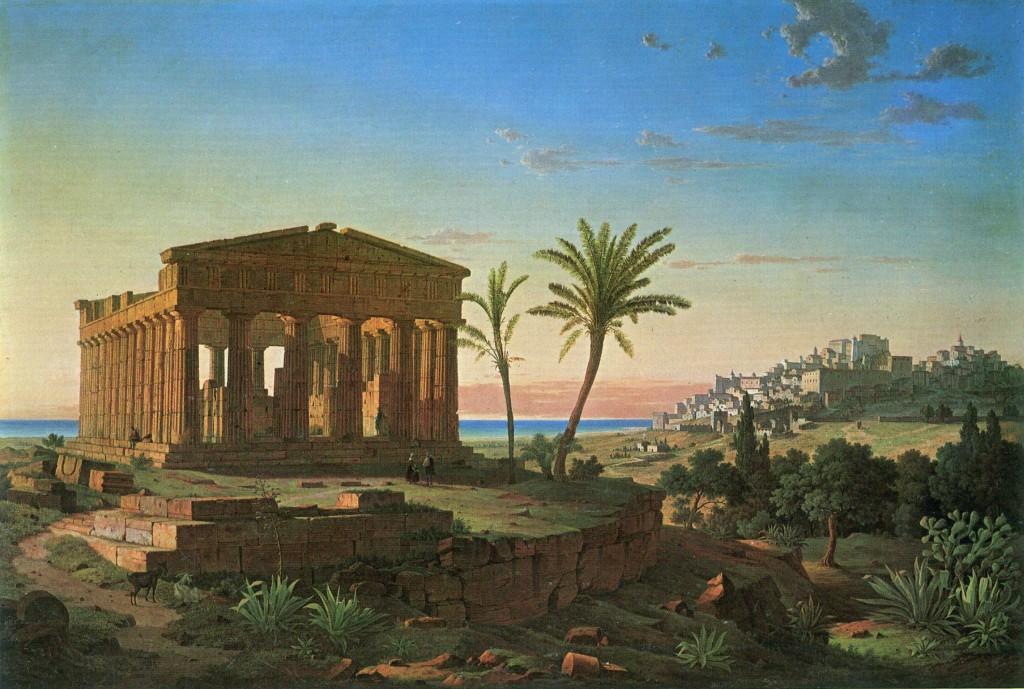Leo von Klenze - Tempel von Agrigento