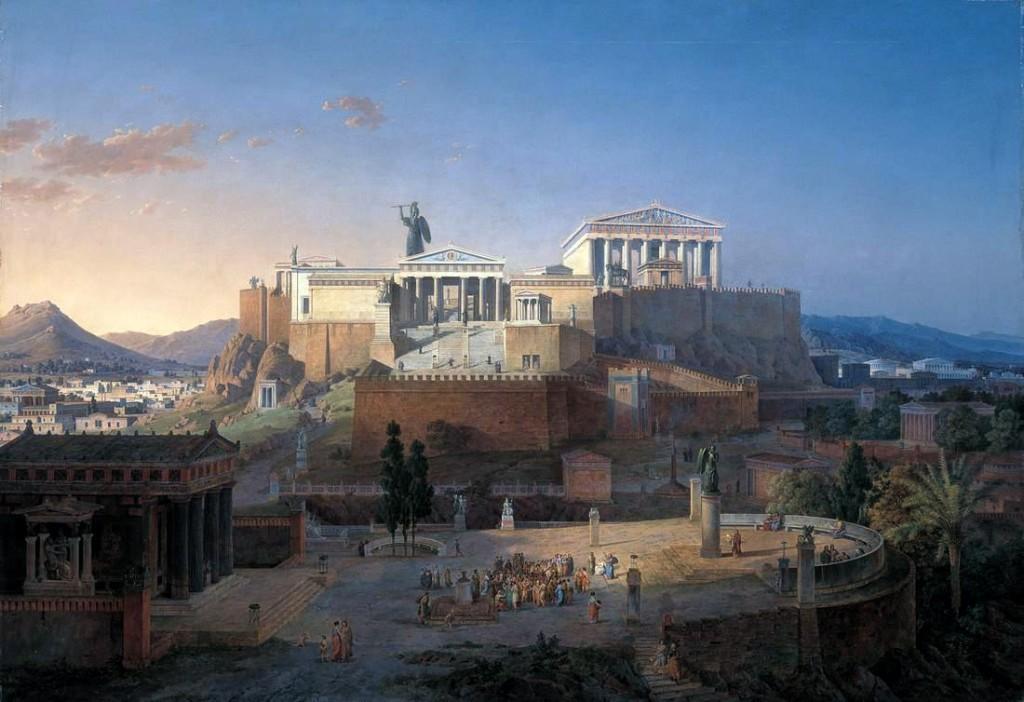 Leo von Klenze - Akropolis