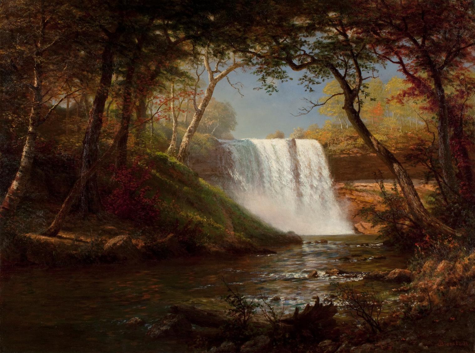 Albert Bierstadt -Minnehaha Falls