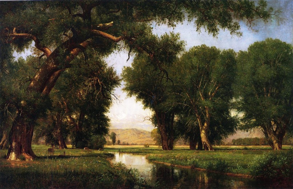 Worthington Whittredge - On the Cache la Poudre River