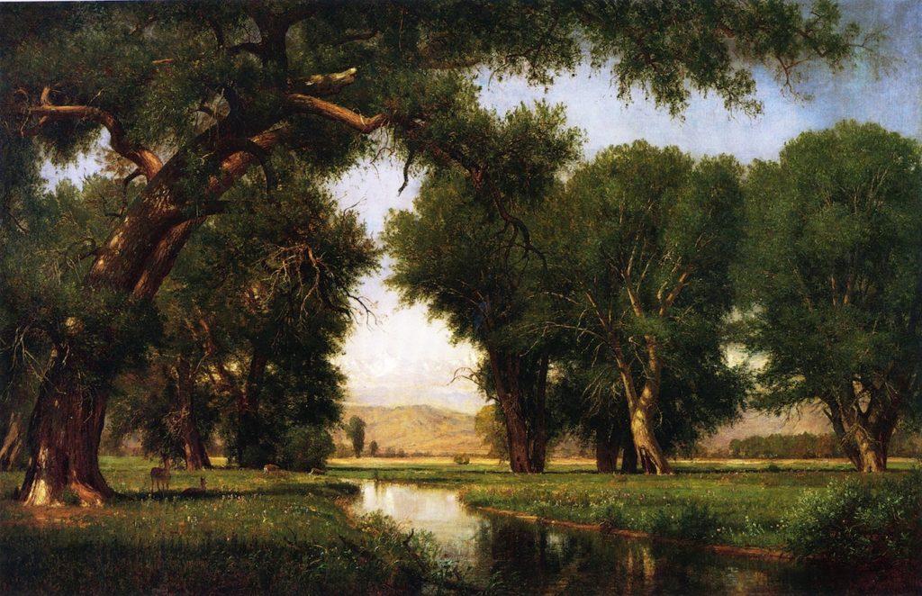 Worthington Whittredge - On the Cache la Poudre River
