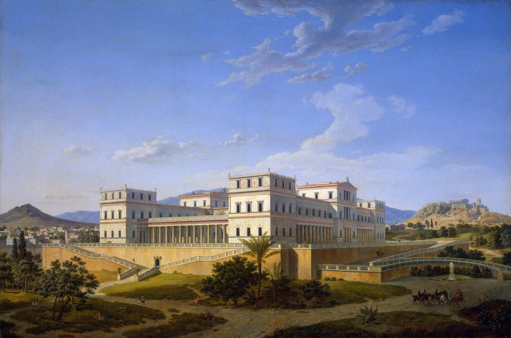 Leo von Klenze - Palace in Athens