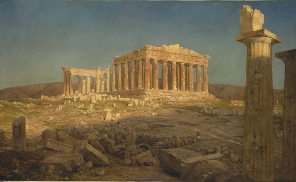 Frederic Edwin Church - Parthenon