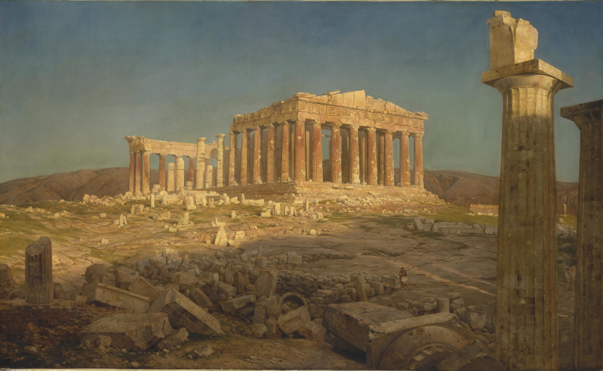 Frederic Edwin Church - Parthenon